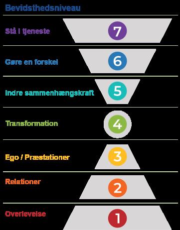 Organisationens 7 bevidsthedsniveauer